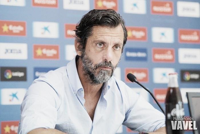 """Quique Sánchez Flores: """"Estamos buscando la victoria y estoy seguro en que llegará"""""""
