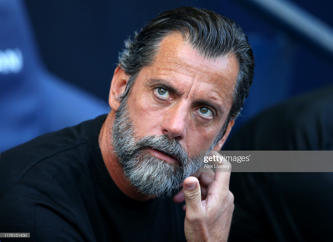 "Sánchez Flores: ""We are not worried"""