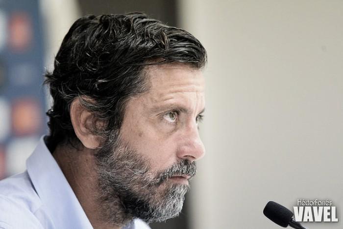 """Quique Sánchez Flores: """"Otro partido sin encajar es muy importante"""""""