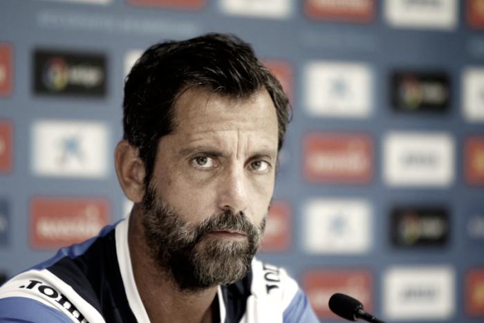 """Quique Sánchez Flores: """"Queremos hacer un buen partido para ganar y conectar con los nuestros"""""""