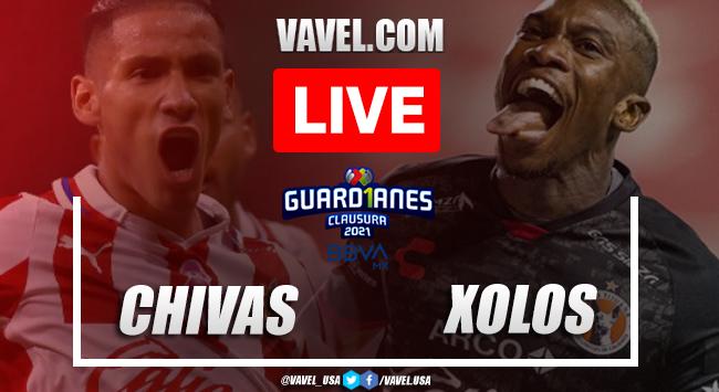 Goals and Highlights Chivas 2-0 Xolos, 2021 Liga MX