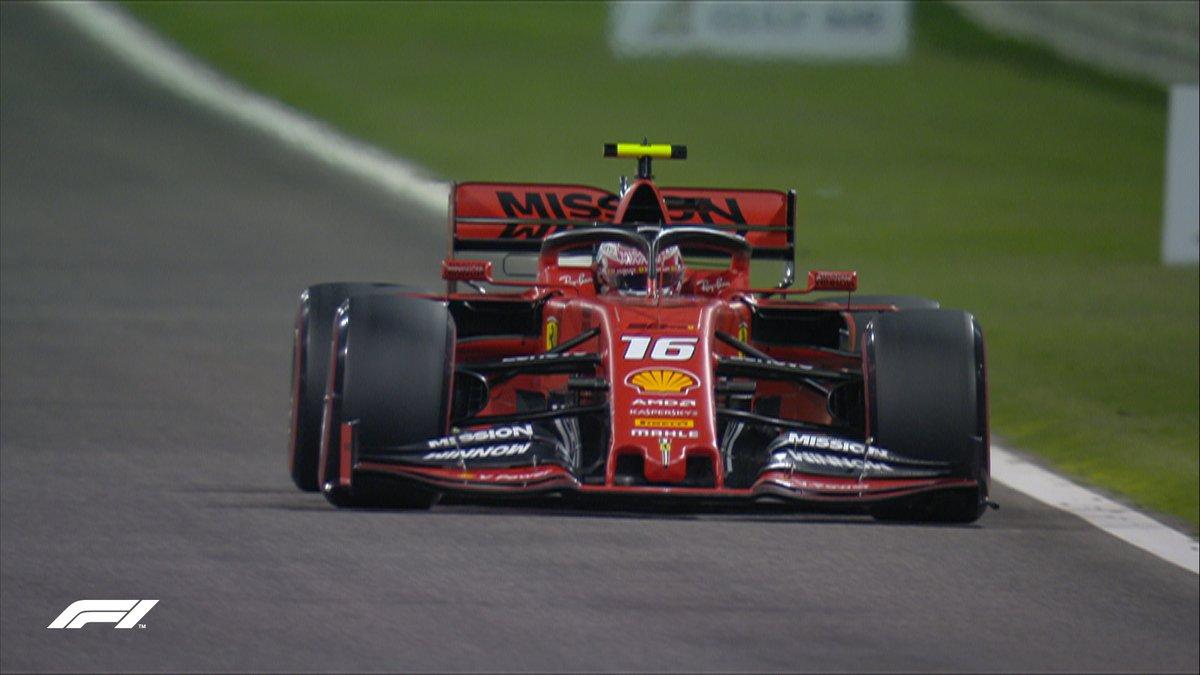 F1 - GP Bahrain - Pole Leclerc! Prima fila tutta rossa