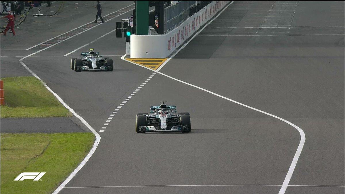 F1 - Qualifiche GP Giappone - Ancora Hamilton! La rossa sbaglia al muretto, Vettel solo 9°