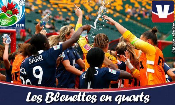 Coupe du Monde féminine U20: Les Bleuettes en quarts-de-finale