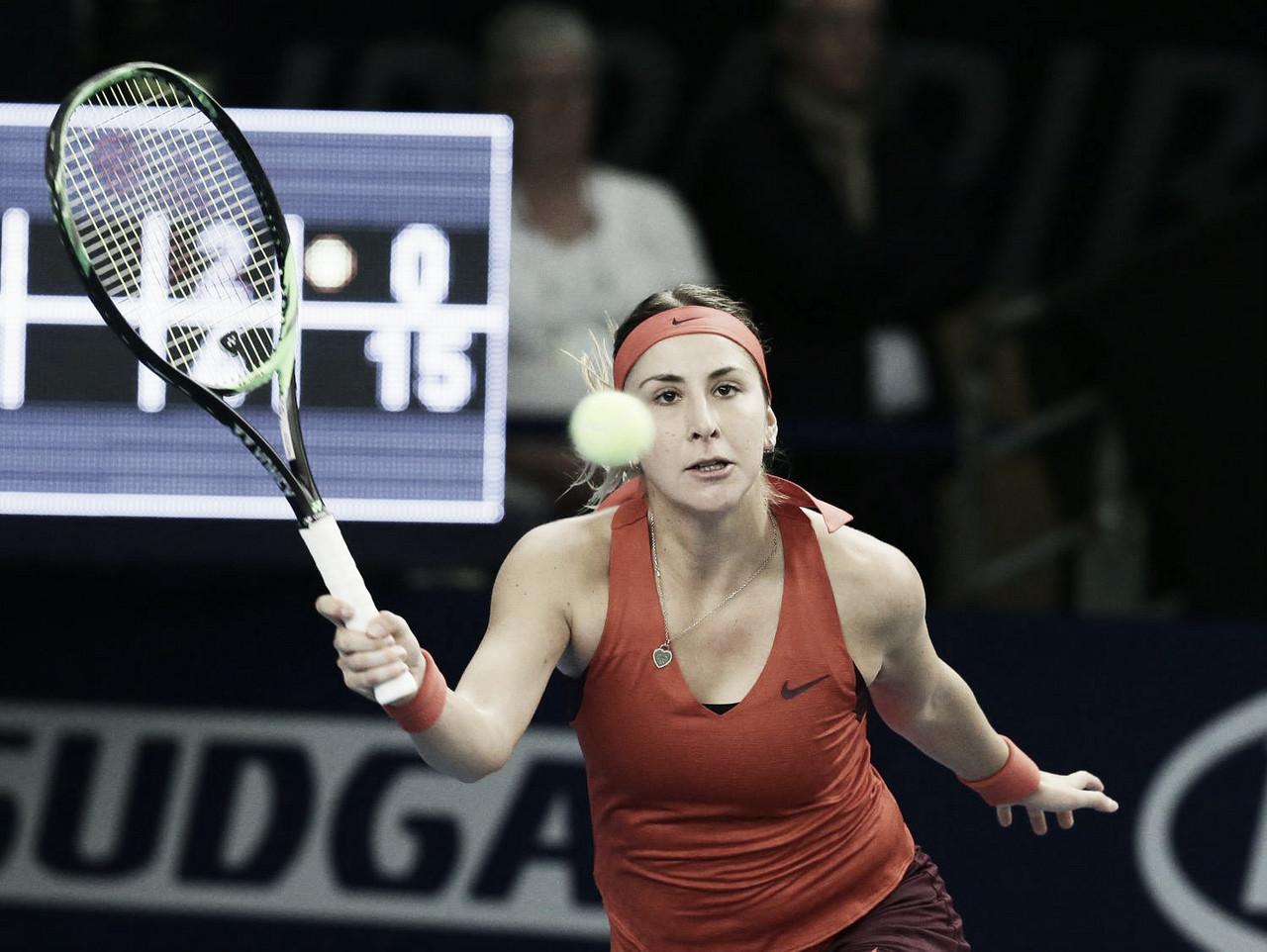 Bencic e Yastremska vencem e marcam encontro em Luxemburgo