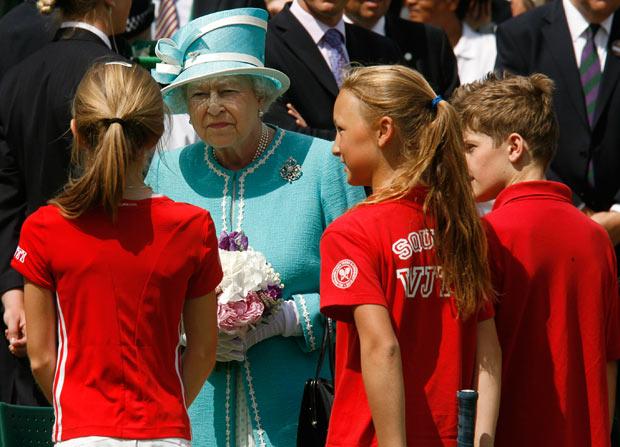 Quando la Regina chiese i biglietti al tennista