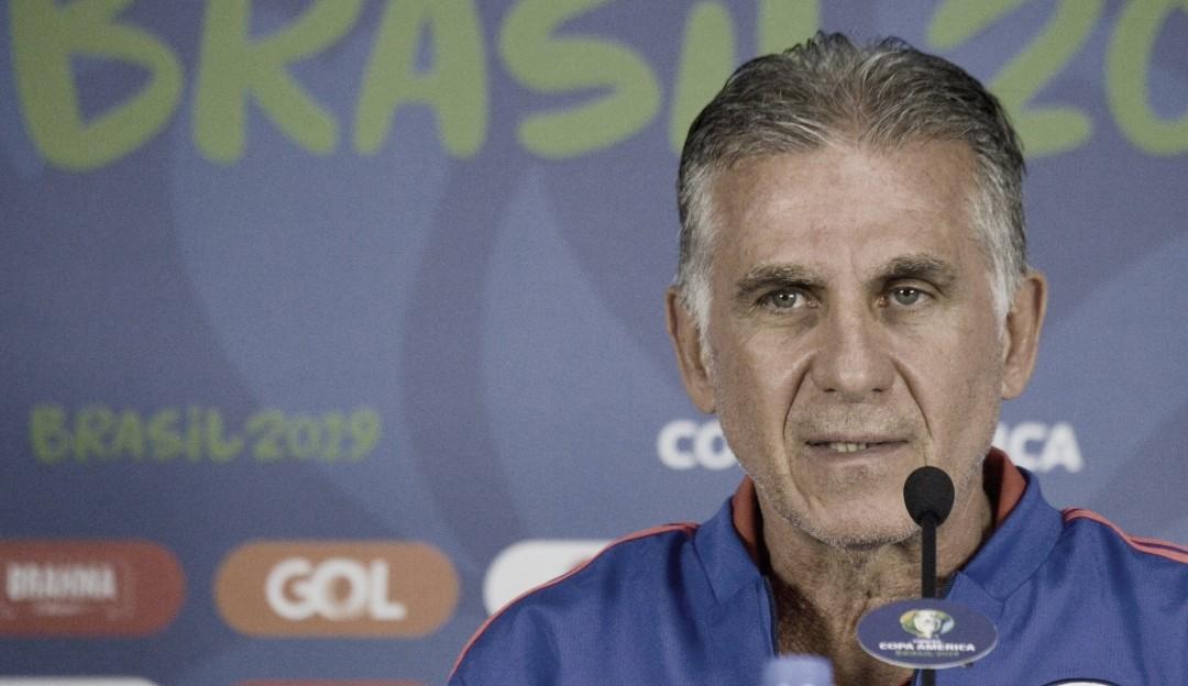 """Carlos Queiroz: """"La única persona responsable por esta eliminación soy yo"""""""