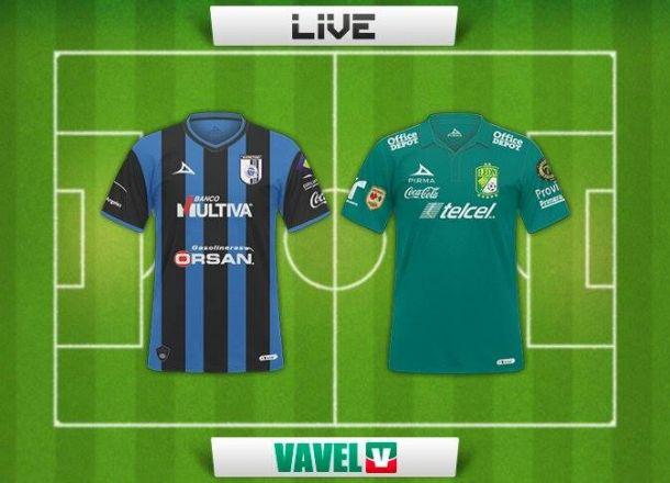 Resultado Querétaro - León en la Liga MX 2014 (1-2)