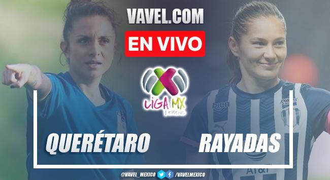 Goles y resumen Querétaro vs Rayadas Monterrey en Liga MX Femenil 2021 (1-1)