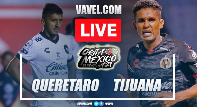 Goals and Highlights: Queretaro 1-1 Tijuana in Liga MX 2021