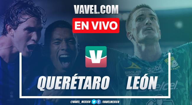 Resumen y video goles Querétaro 0-4 León en Liga MX 2019
