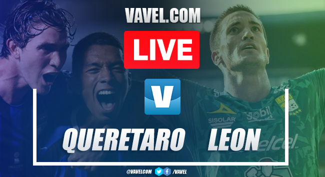 Querétaro vs León: LIVE Stream Online and Score Updates (0-4)