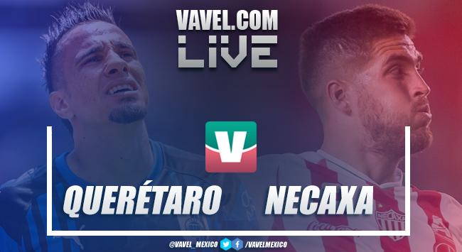 Resultado y goles del Querétaro 1-0 Necaxa de la Liga MX 2018