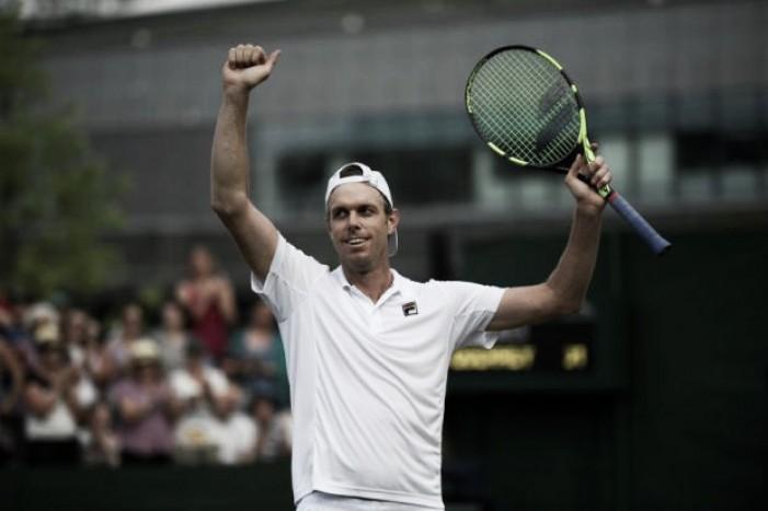 Wimbledon 2017, Querrey primo semifinalista: Murray crolla al quinto