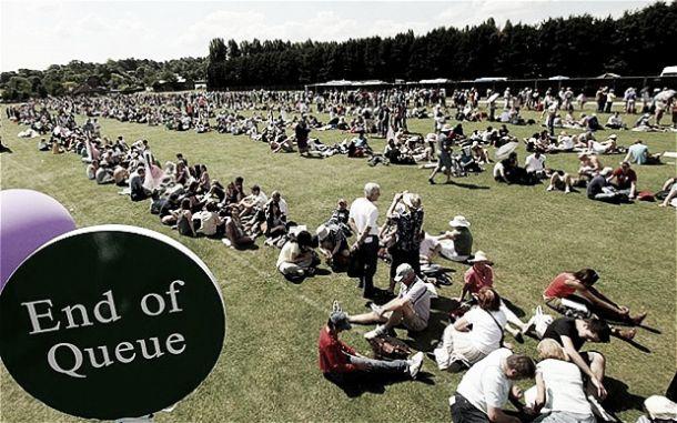 Las tradiciones de Wimbledon: The Queue
