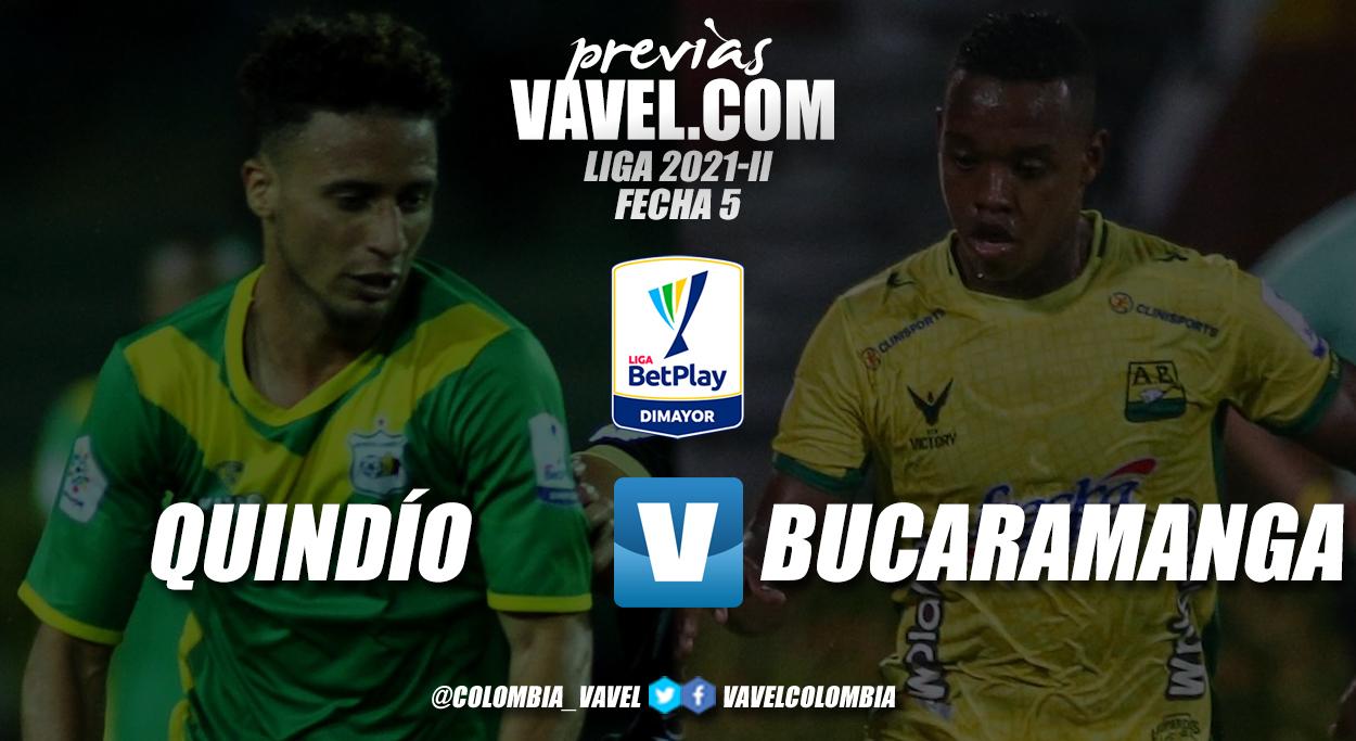 Previa Deportes Quindío vs Atlético Bucaramanga: Duelo por volver a sumar de a tres