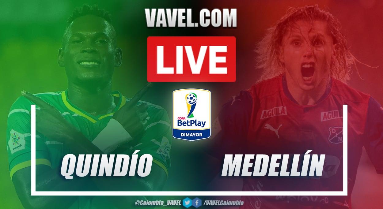Resumen Quindío vs Medellín (0-1) por semifinales de Copa BetPlay 2020