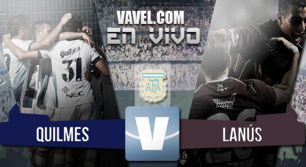 Resultado Quilmes - Lanús (0-1) 2015