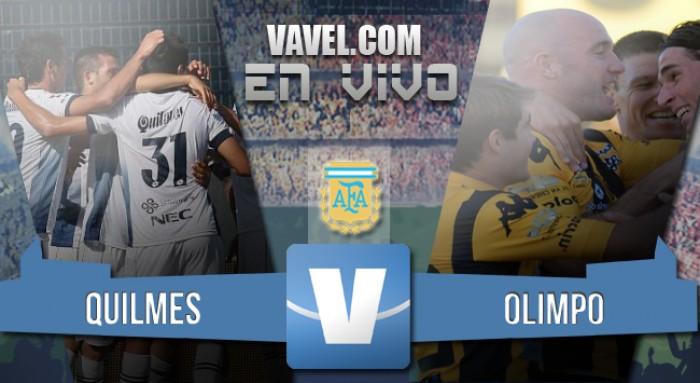 Resultado: Quilmes 1-1 Olimpo por el Torneo de Transición 2016