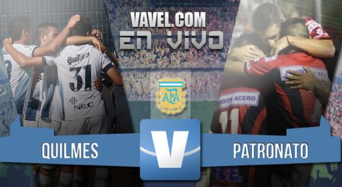 Quilmes 2 - Patronato 2: Reparto de puntos en un partido para el infarto.