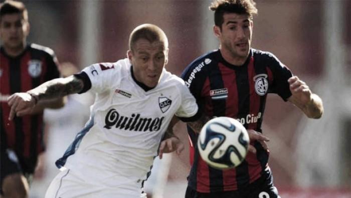 Quilmes vs. San Lorenzo, la historia