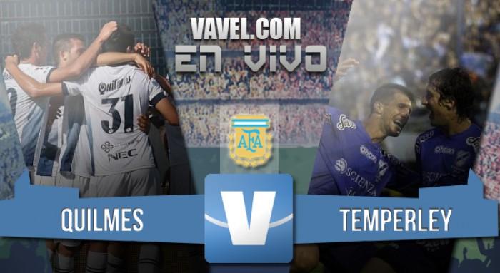 Resultado Final: Quilmes 2-0 Temperley en el Torneo de Transición 2016