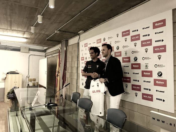 Quim Araujo, presentado por el Albacete Balompié