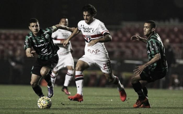Em desvantagem, São Paulo duela com o Juventude por uma vaga nas quartas de final da Copa do Brasil
