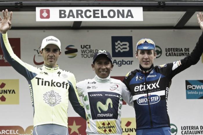 Volta a Catalunya, Quintana si difende sul Montjuic e si aggiudica la corsa