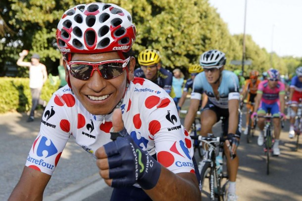 Nairo Quintana, campeón en el Natocriterium de Ninove Bélgica