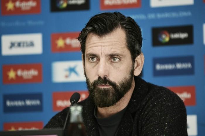 """Quique Sánchez Flores: """"Gerard Moreno está a la altura de Iago Aspas"""""""