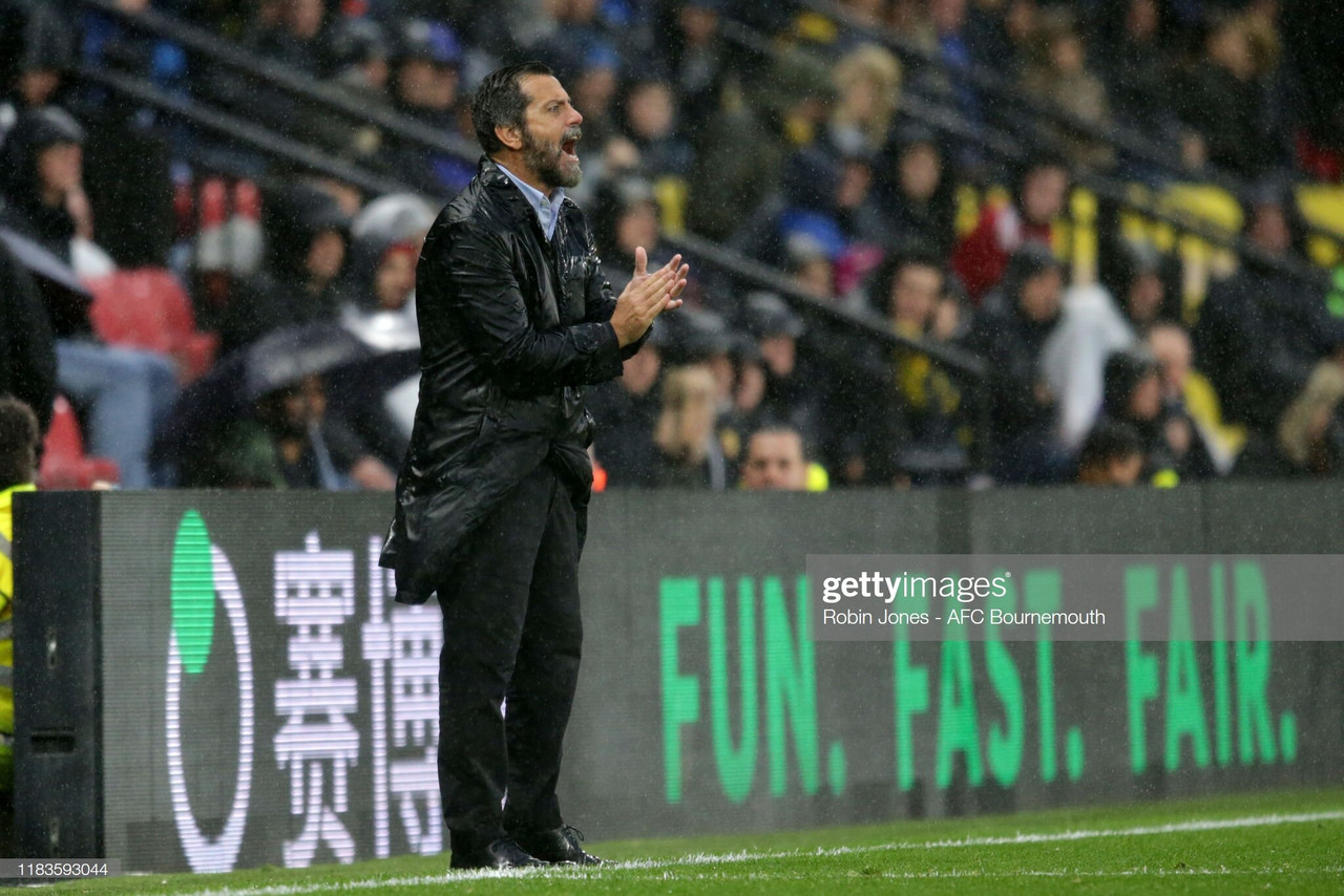 "Sánchez Flores calls for ""positive energy"" amid barren run"