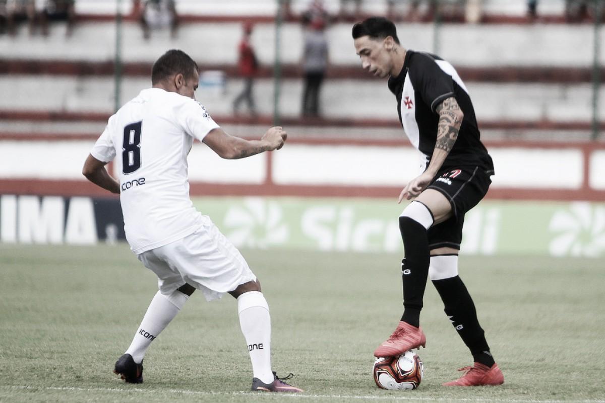 Análise: Vasco é pouco criativo e conta com erros do Madureira para vencer