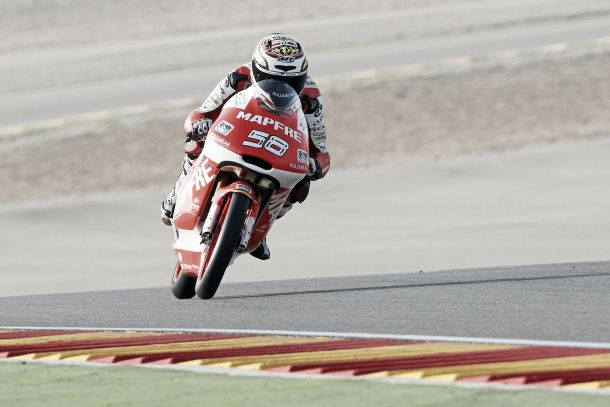 """Juanfran Guevara: """"Me hubiera gustado conseguir mi primera pole en Moto3"""""""