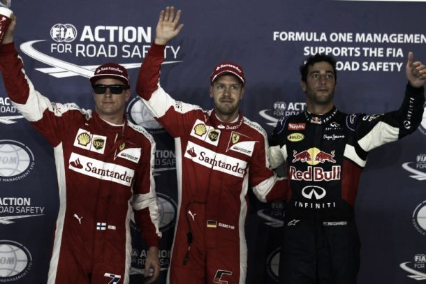 F1, Singapore: Vettel conquista la pole position, Raikkonen terzo