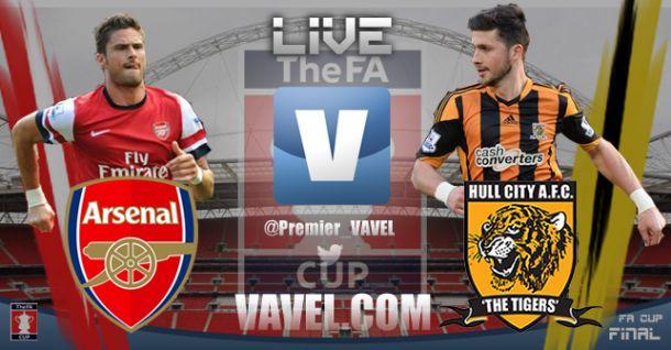 Arsenal x Hull City, final da FA Cup