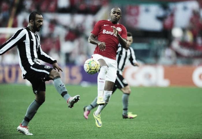 Botafogo recebe embalado Internacional visando entrar de vez no cobiçado G-6