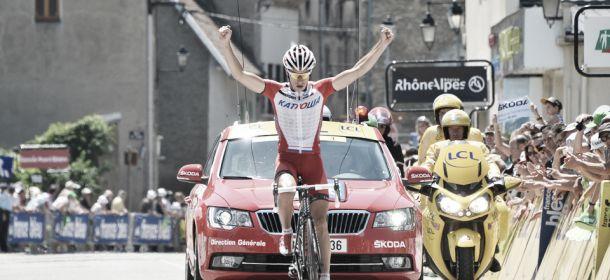 Dauphiné : Spilak remporte l'étape, Froome inquiété