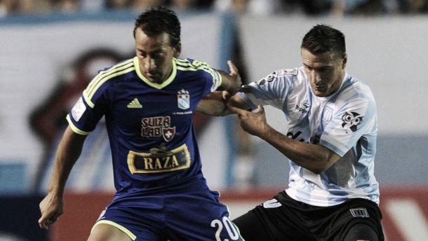 Resultado Sporting Cristal - Racing por la Copa Libertadores 2015 (0-2)