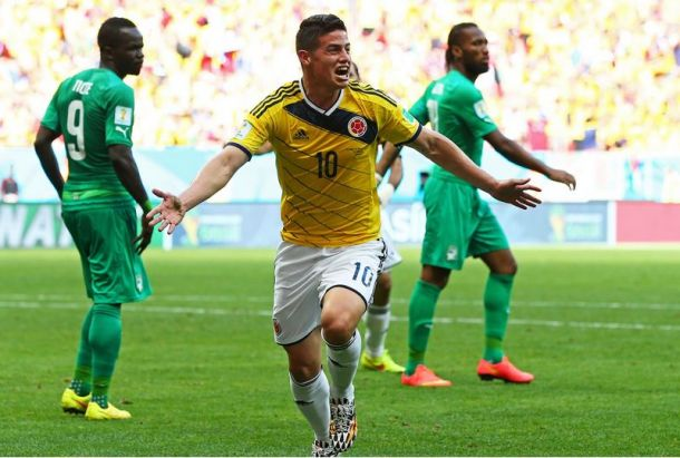 Colombia 2-1 Ivory Coast: Colombia go top of Group C in 'group final'