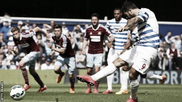 QPR 0-0 West Ham: Hammers hold R's to draw as Austin misses penalty