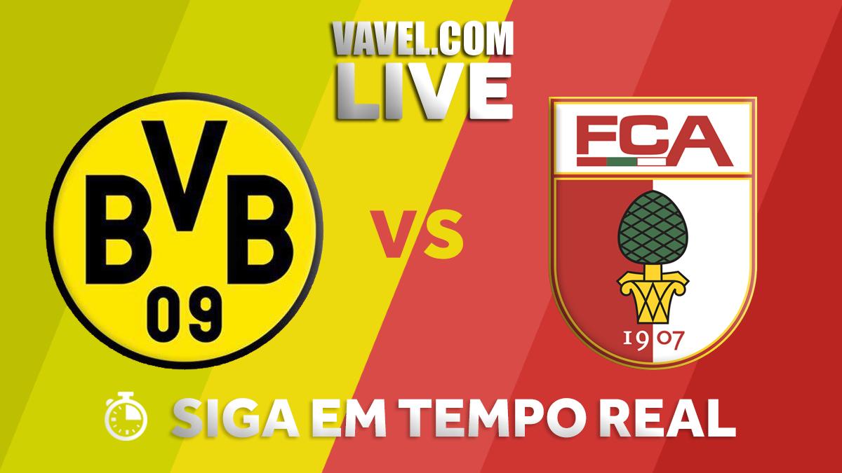 Resultado Borussia Dortmund x Augsburg na Bundesliga 2017-18 (1-1)