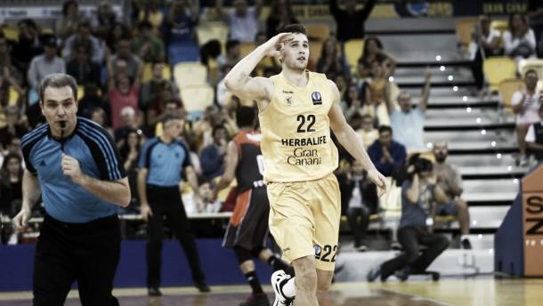 """Xavi Rabaseda: """"En la segunda parte hemos vuelto a coger la línea que teníamos antes de jugar en Tenerife"""""""