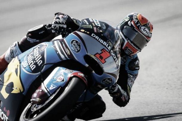 Aragon, Moto2: Rabat vince su Rins per 96 millesimi. 6° Zarco.
