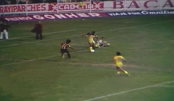 Carlos Reinoso y su mítico gol de rabona