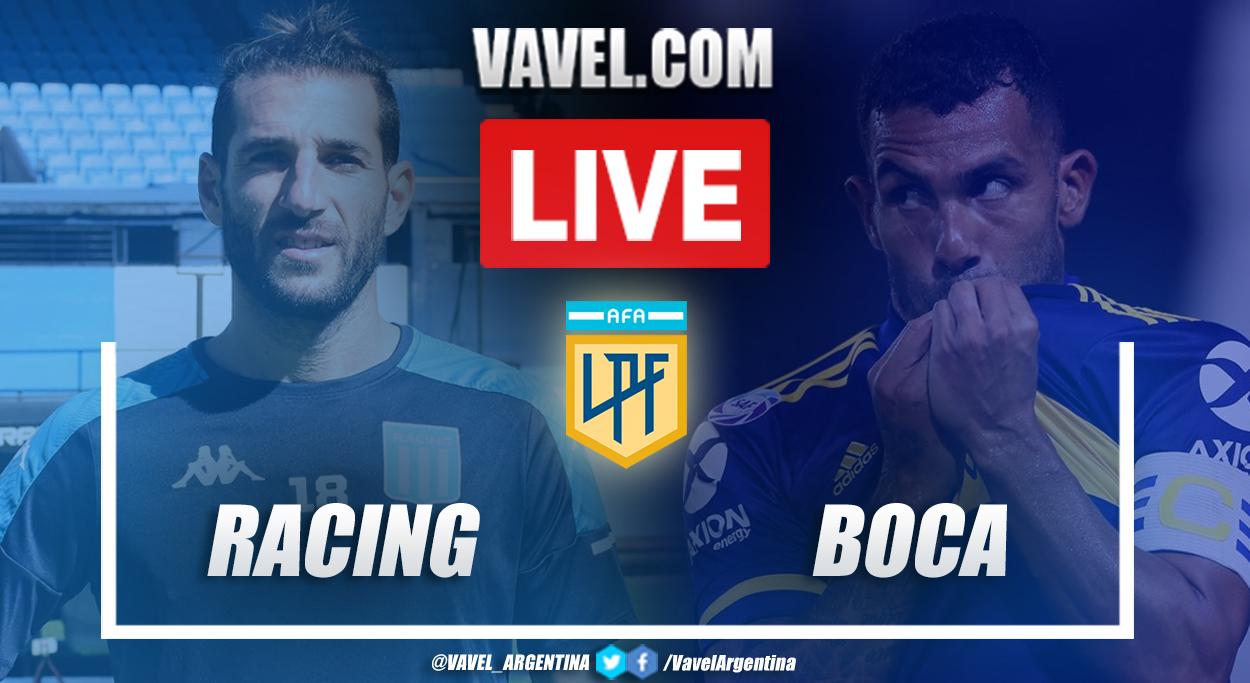 Resumen Racing 0 (4) - 0 (2) Boca en semifinal por Copa de la Liga Profesional 2021