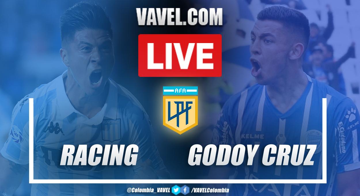 Resumen Racing vs Godoy Cruz (6-1) en Copa Diego Armando Maradona