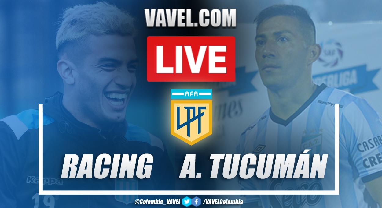 Triunfo histórico de Atlético Tucumán como visitante frente a Racing Club (1-4)