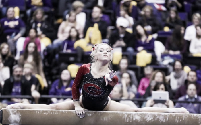NCAA Gymnastics: Georgia scores dominant win over NC State