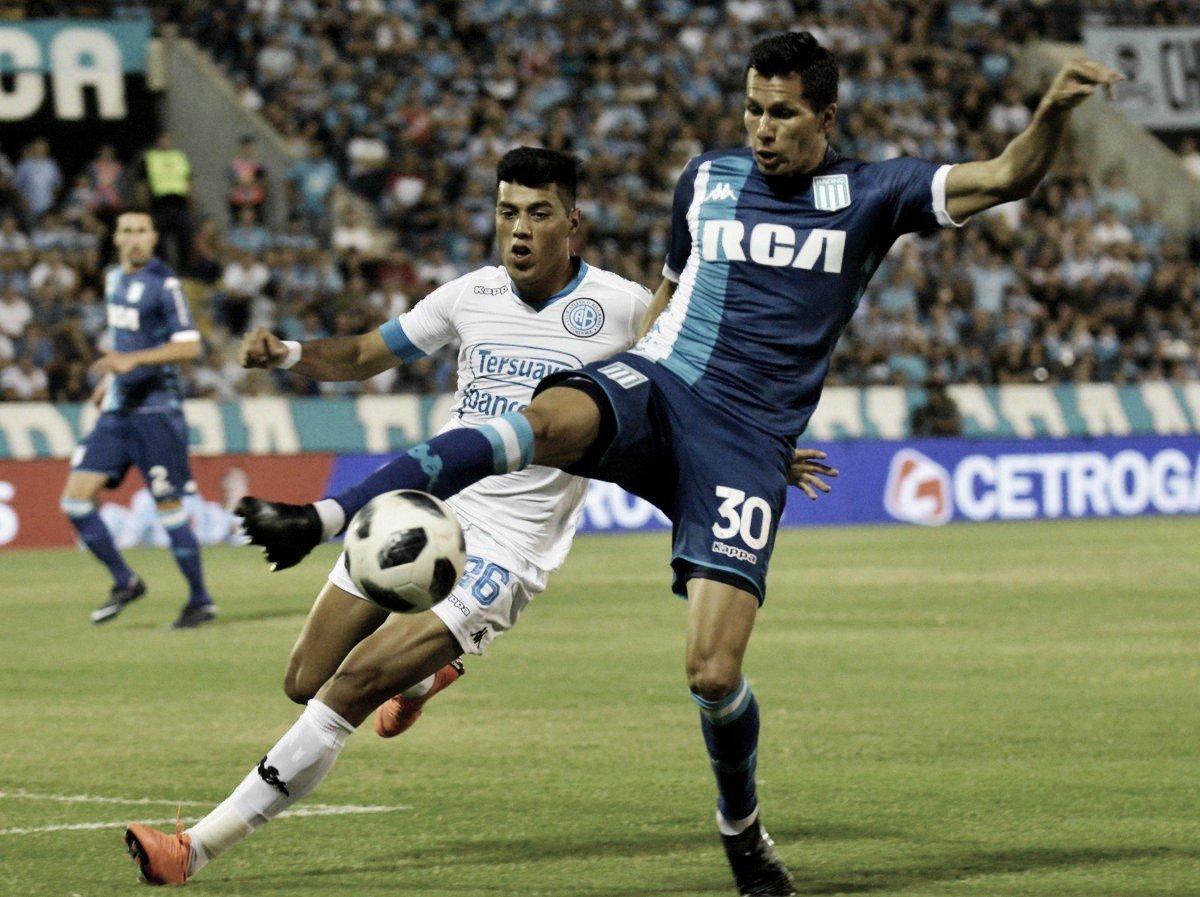 Centurión marca, é expulso, e Racing fica no empate com o Belgrano